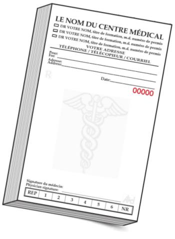 Papeterie médicales